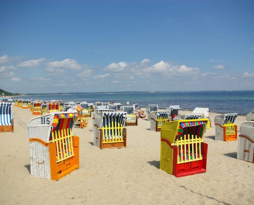 Wochenendreisen Ostsee Strandkörbe