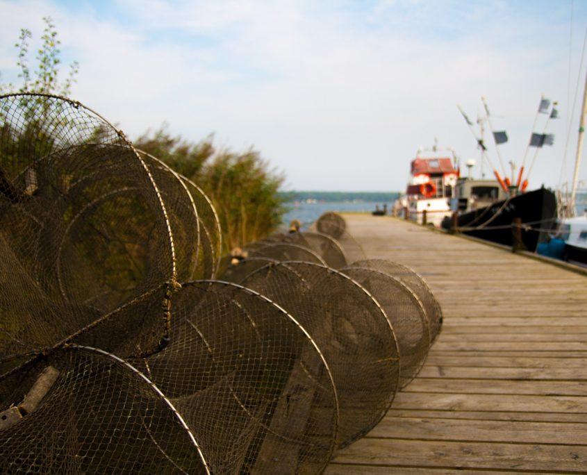 Fischerboote an der Ostsee