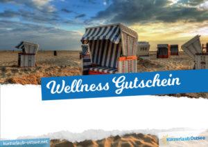 Wellness Gutschein Vorlage 1