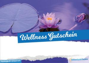 Wellness Gutschein Vorlage 11