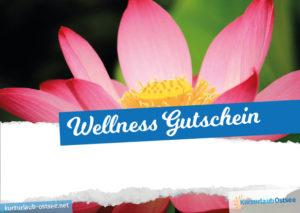 Wellness Gutschein Vorlage 12