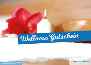 Wellness Gutschein Vorlage 6