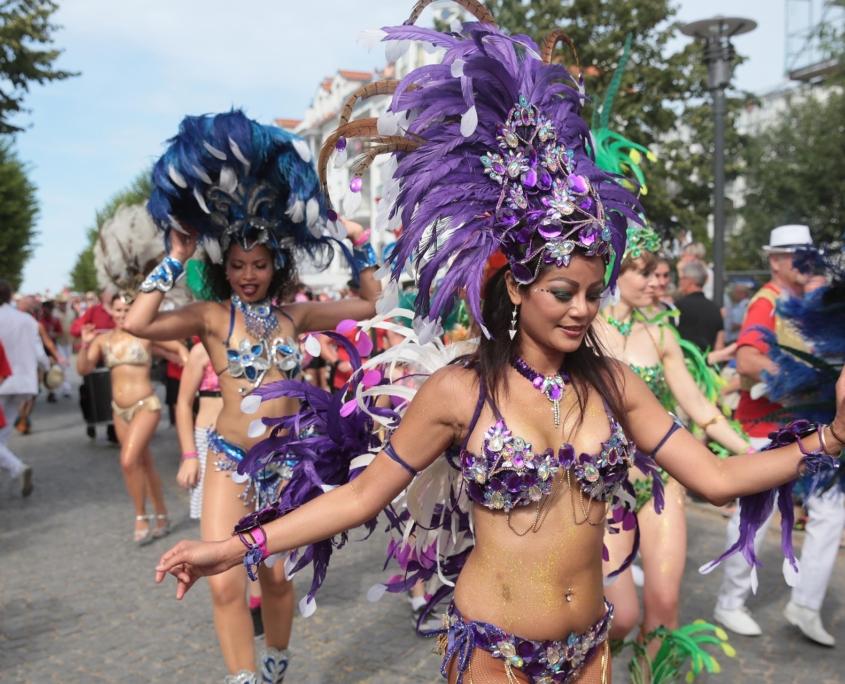 Samba Festumzug beim Kühlungsborner Sommerspektakel