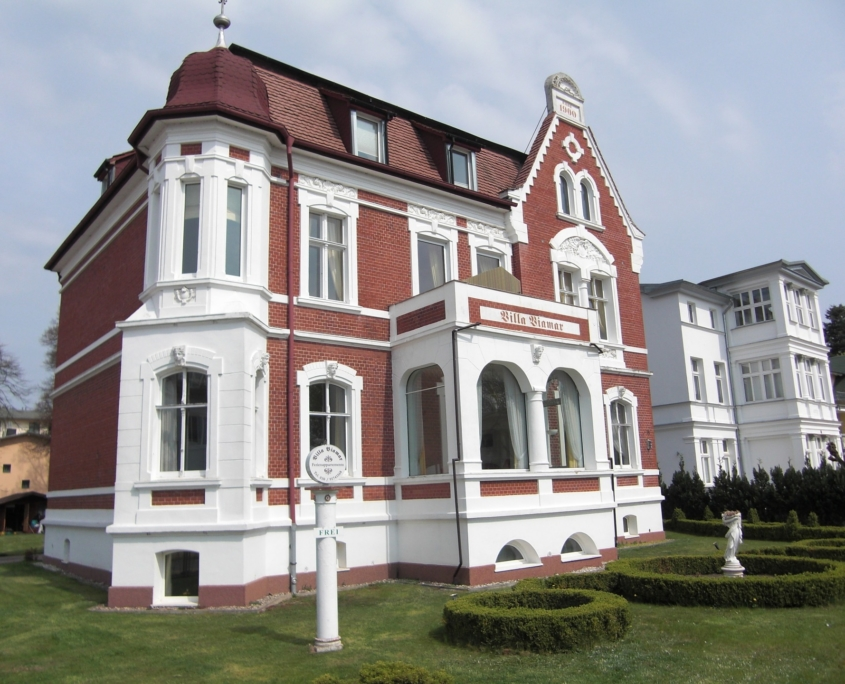 Villa Viamar im Kaiserbad Bansin, Usedom