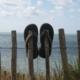 Mit Flip-Flops ans Meer